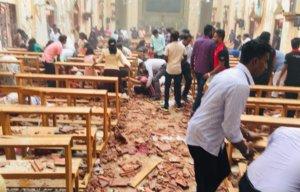 Τρόμος! Βόμβες σε 3 εκκλησίες την ημέρα του Πάσχα των Καθολικών στη Σρι Λάνκα – video