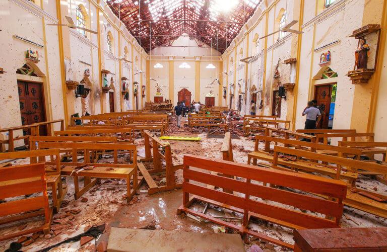 Σρι Λάνκα: Απ' όλον τον κόσμο τα θύματα από τις φονικές εκρήξεις