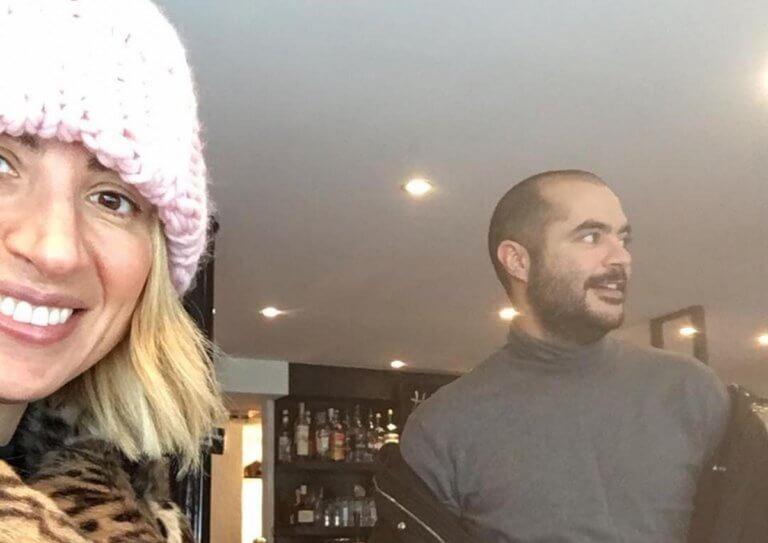 Μαρία Ηλιάκη: Βραδινή έξοδος με τον σύντροφό της, Στέλιο Μανουσάκη, στην Αθήνα! [video]