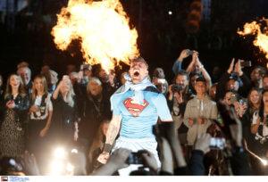 """ΠΑΟΚ: """"Έπος"""" Πασχαλάκη στη φιέστα! Βγήκε ως Superman – video"""