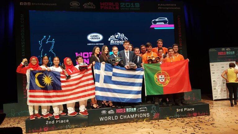 Απίστευτη παγκόσμια πρωτιά για ελληνικό σχολείο – Η ομάδα που σαρώνει τα βραβεία