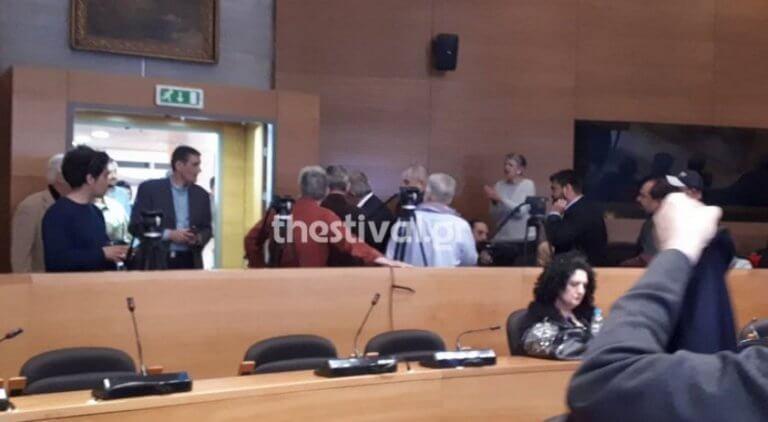 Τα άκουσε ο Βούτσης στη Θεσσαλονίκη για τη συμφωνία των Πρεσπών