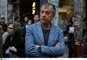 Θεοδωράκης: Στα Εξάρχεια ακούν ριπές όπλου και τους φαίνεται φυσιολογικό