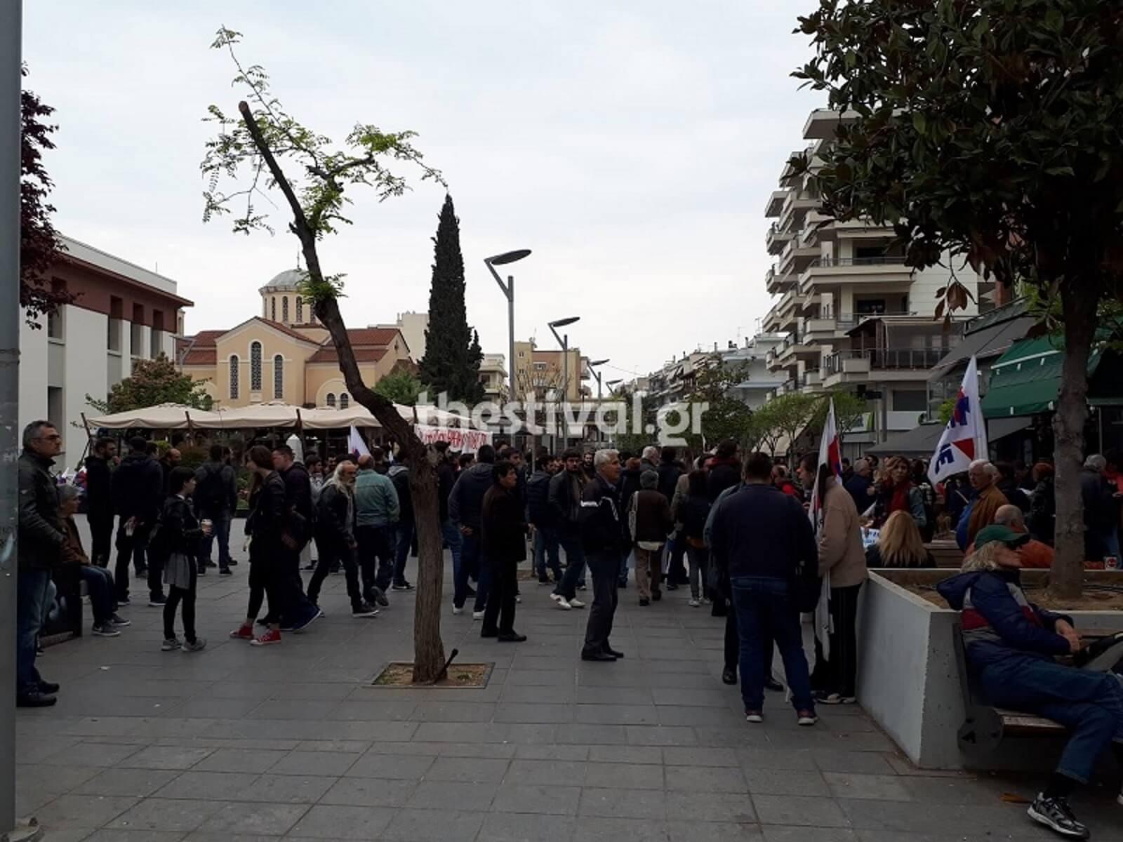 """""""Ηλεκτρισμένη"""" ατμόσφαιρα στη Θεσσαλονίκη! Ταυτόχρονες συγκεντρώσεις ακροδεξιών και του ΠΑΜΕ"""