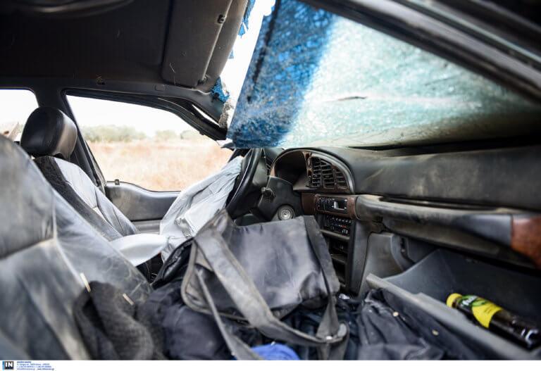Λάρισα: Ξεψύχησε εγκλωβισμένος στο αυτοκίνητό του – Τραγωδία σε ρέμα μετά από νέο τροχαίο!