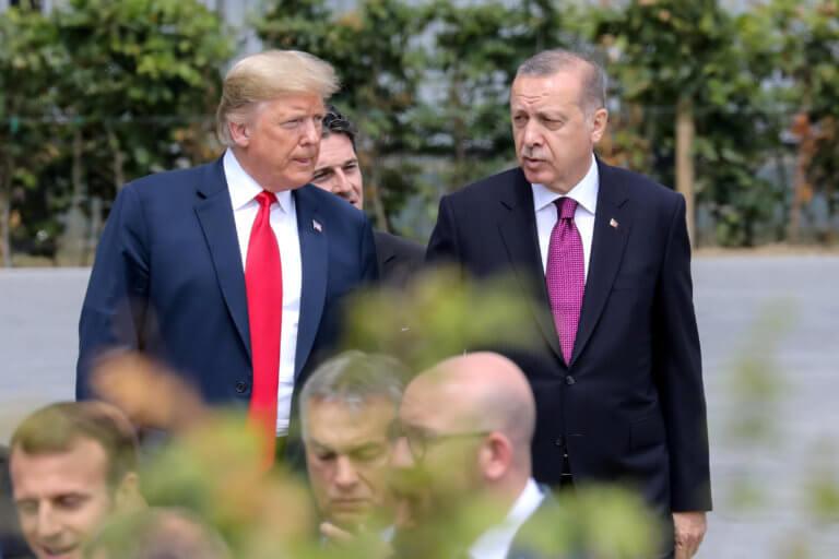 «Ψήνεται» συνάντηση Τραμπ – Ερντογάν μέσα στον Ιούνιο