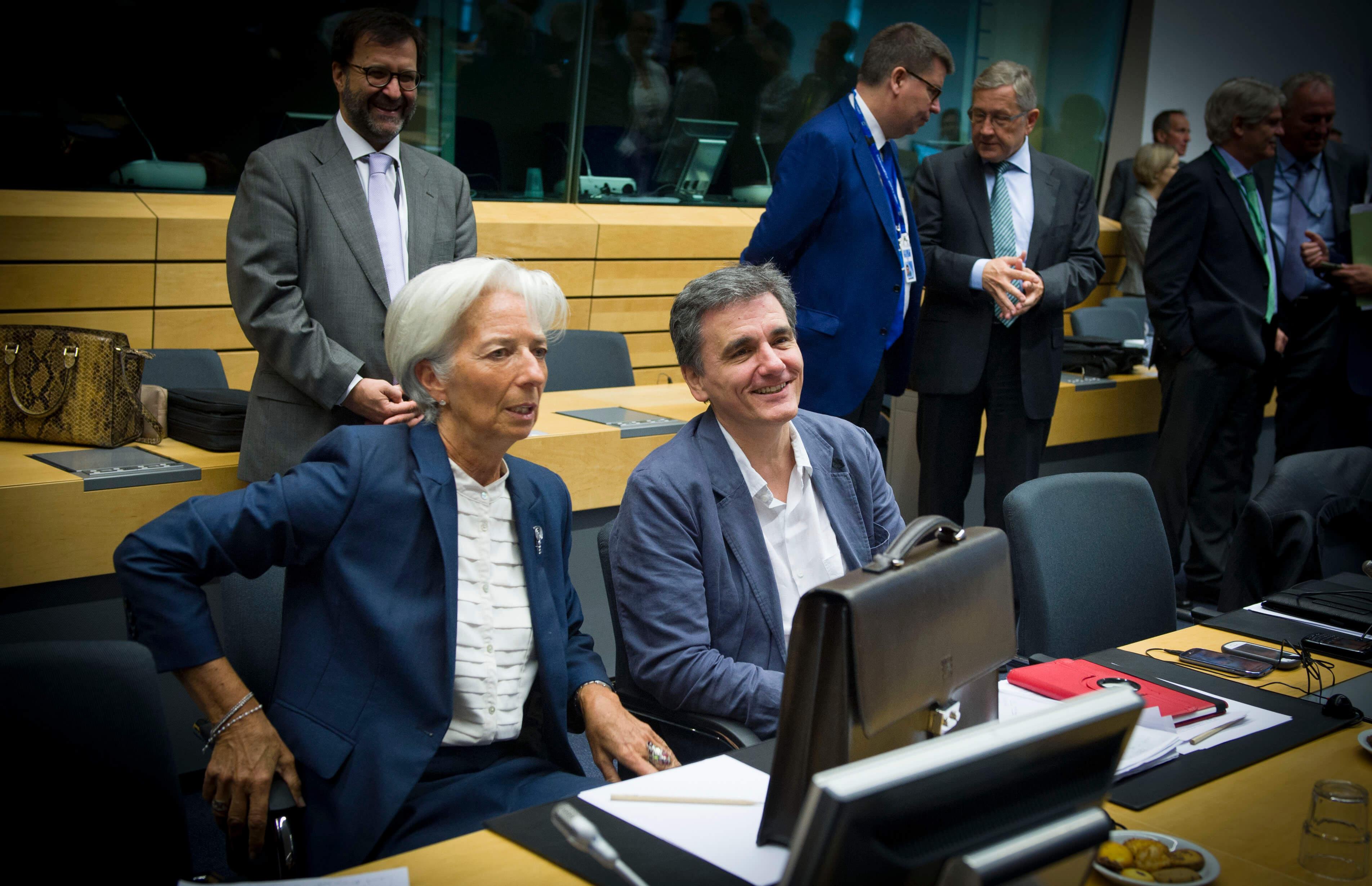 Τσακαλώτος ΔΝΤ