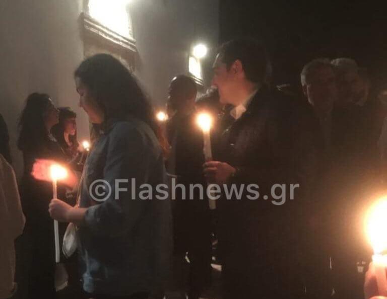 Κρήτη: Ανάσταση στο Ροδάκινο για τον Αλέξη Τσίπρα και την οικογένεια του [pics]