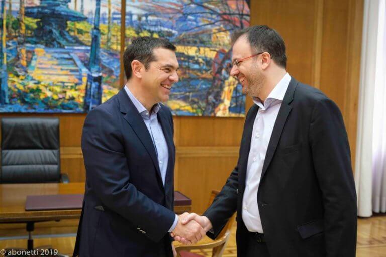 Εκλογές 2019: Τσίπρας – Θεοχαρόπουλος έδωσαν τα… χέρια για εκλογική συνεργασία