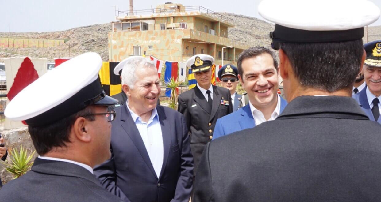 Πάσχα 2019: Στη ναυτική βάση στο Κάβο Σίδερο ο Αλέξης Τσίπρας [pics]