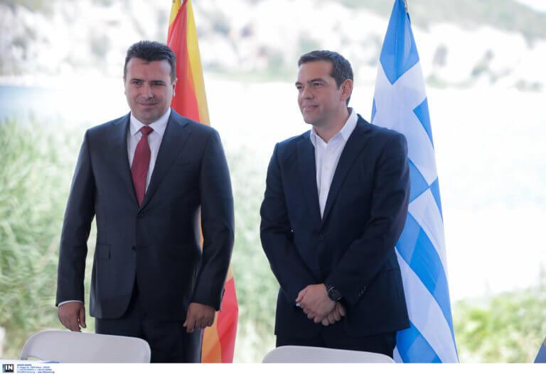 Ο Αλέξης Τσίπρας στα Σκόπια: Συμφωνίες και… νουθεσίες στον Ζάεφ
