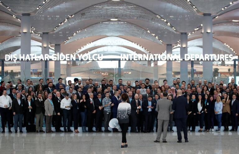 """Κωνσταντινούπολη: Μετακόμιση – αστραπή του """"Ατατούρκ"""" στο νέο αεροδρόμιο της Πόλης!"""