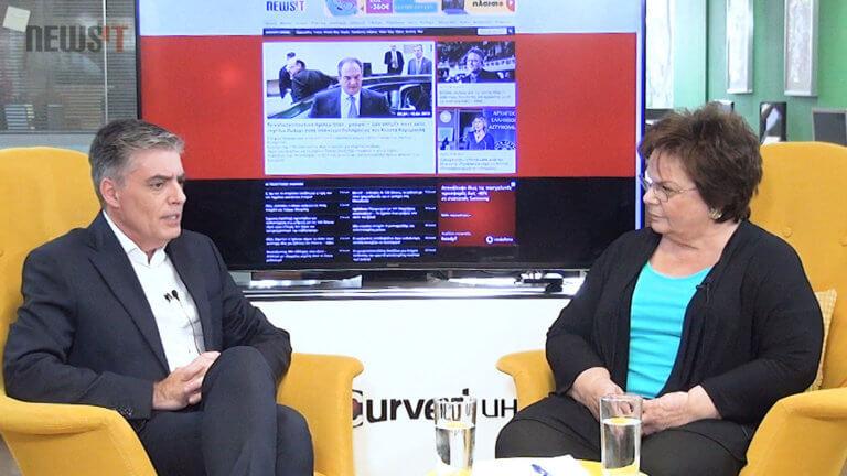 Ευρωεκλογές 2019 – Νίκη Τζαβέλα στο newsit.gr: Όσο υπάρχει ο Ερντογάν, δεν θα γίνει θερμό επεισόδιο