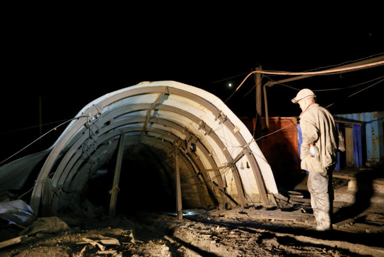 Τραγωδία στην Ουκρανία: 3 νεκροί και 14 αγνοούμενοι από έκρηξη σε ανθρακωρυχείο