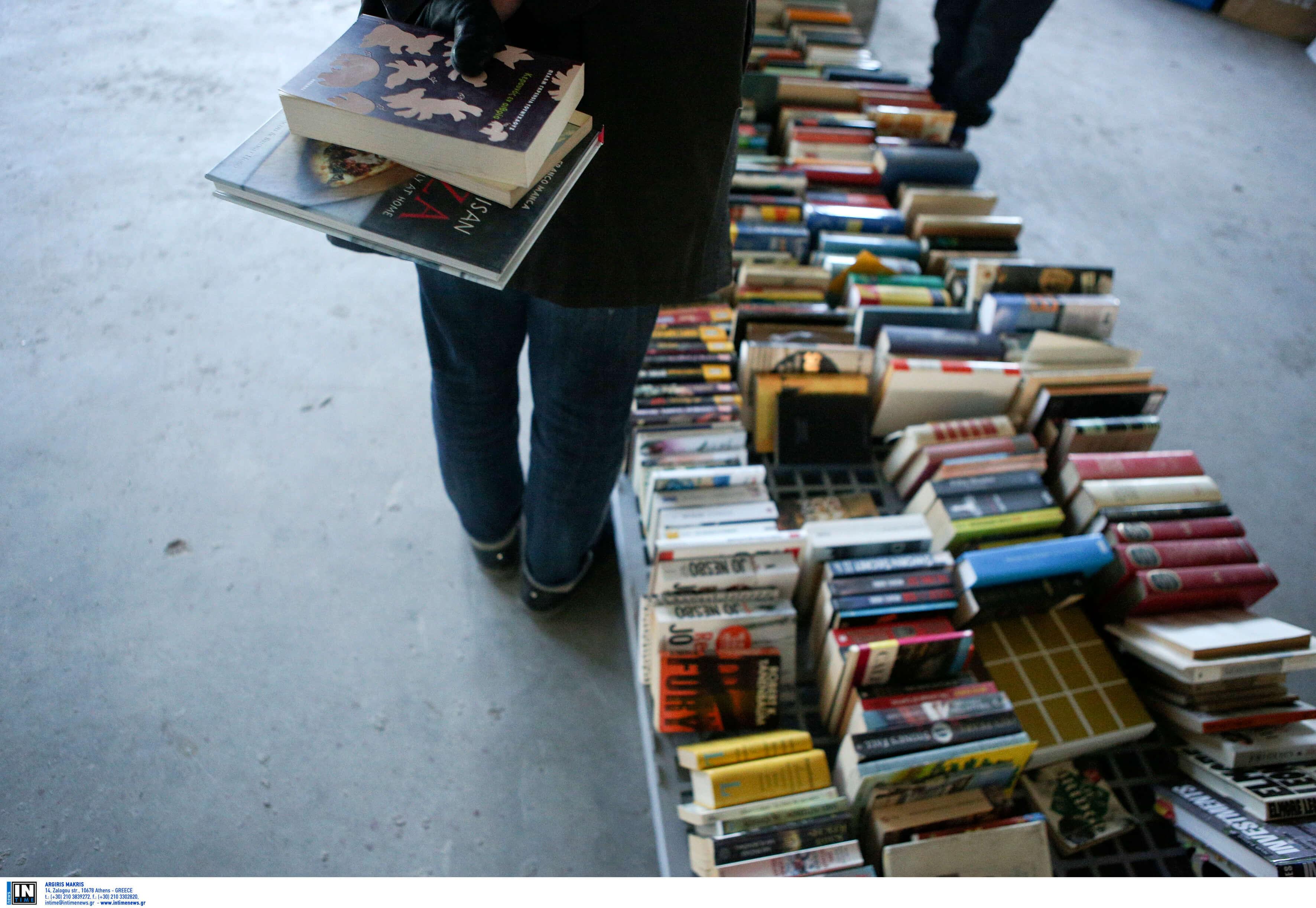 ΔΕΘ 2019: Χιλιάδες φτηνά βιβλία στη 10η Γιορτή βιβλίου – Bazaar