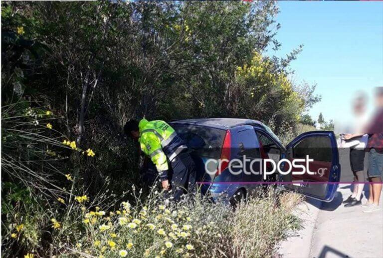 Κρήτη: Αυτοκίνητο τούμπαρε στον ΒΟΑΚ