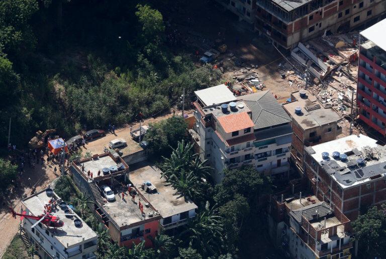 Βραζιλία: 7 οι νεκροί από την κατάρρευση των κτιρίων – 17 αγνοούμενοι [pics]