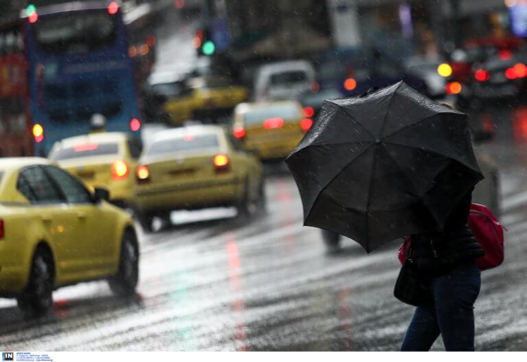 Καιρός αύριο: Έρχονται βροχές και καταιγίδες – Πού θα «σκάσει» η νέα κακοκαιρία
