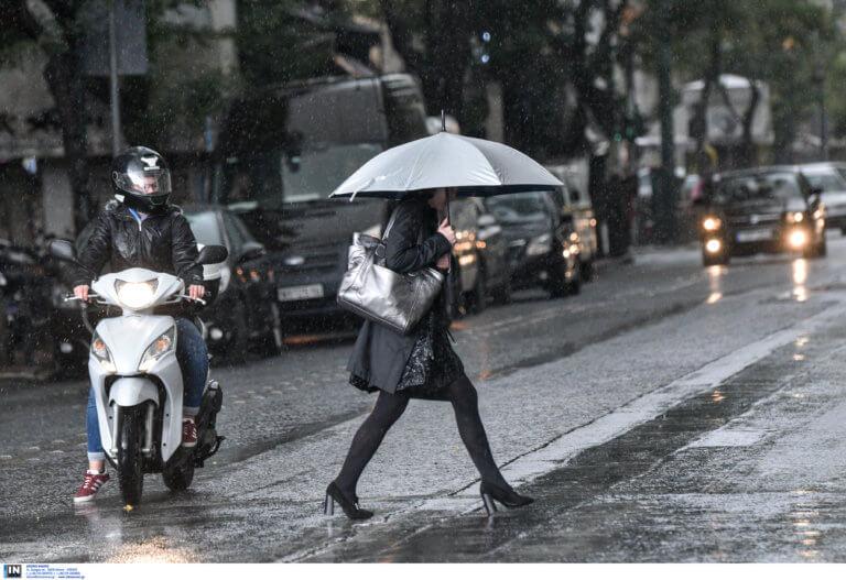 Καιρός: Βροχές, καταιγίδες, χαλάζι και… καλό σαββατοκύριακο!