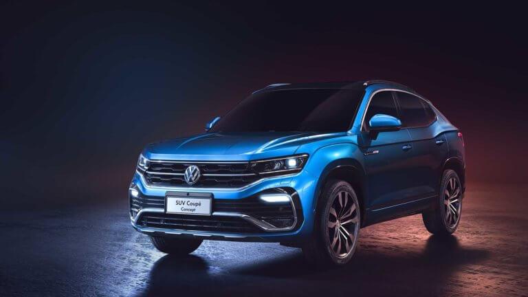 Η Volkswagen έδειξε το SUV Coupe Concept στην έκθεση της Σαγκάης