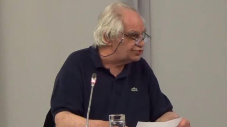 Πέθανε ο καθηγητής του ΑΠΘ, Γεράσιμος Βώκος