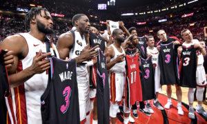 NBA: Η τελευταία παράσταση του Γουέιντ στο Μαϊάμι! Συγκινητικές στιγμές – video