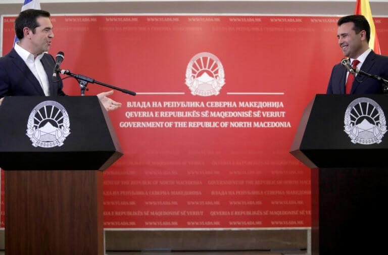 Τσίπρας στην Βόρεια Μακεδονία: Καταρρίψαμε εθνικισμούς και πατροδοκαπηλίες