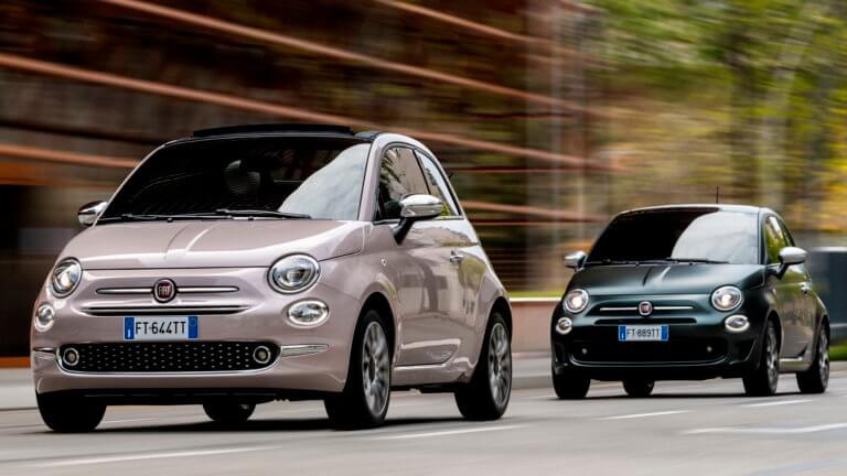Νέες εκδόσεις για το FIAT 500 [pics]