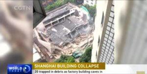 Κίνα: Κατέρρευσε κτίριο – Τουλάχιστον 10 εγκλωβισμένοι – video