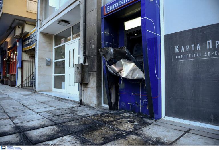 Θεσσαλονίκη: Αυτοψία στα δύο ΑΤΜ που χτυπήθηκαν τα ξημερώματα – Τα παράτησαν σε αυτή την κατάσταση [pics]