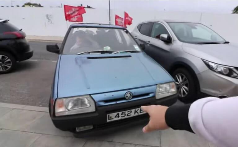 Με… ρίσκο στο Τότεναμ – Λίβερπουλ! Αγόρασε αυτοκίνητο με 45 ευρώ και έφυγε για Μαδρίτη
