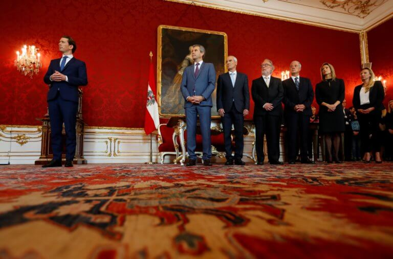 Αυστρία: Σενάρια νέας συγκυβέρνησης του Κουρτς με την εθνικιστική ακροδεξιά!