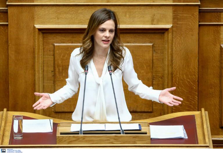 Αχτσιόγλου: Μόνιμη η 13η σύνταξη με κυβέρνηση ΣΥΡΙΖΑ