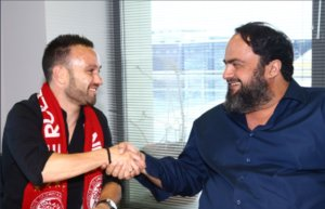 Ολυμπιακός – Βαλμπουενά: Ανακοινώθηκε ο Γάλλος! Με Μαρινάκη οι υπογραφές! pics