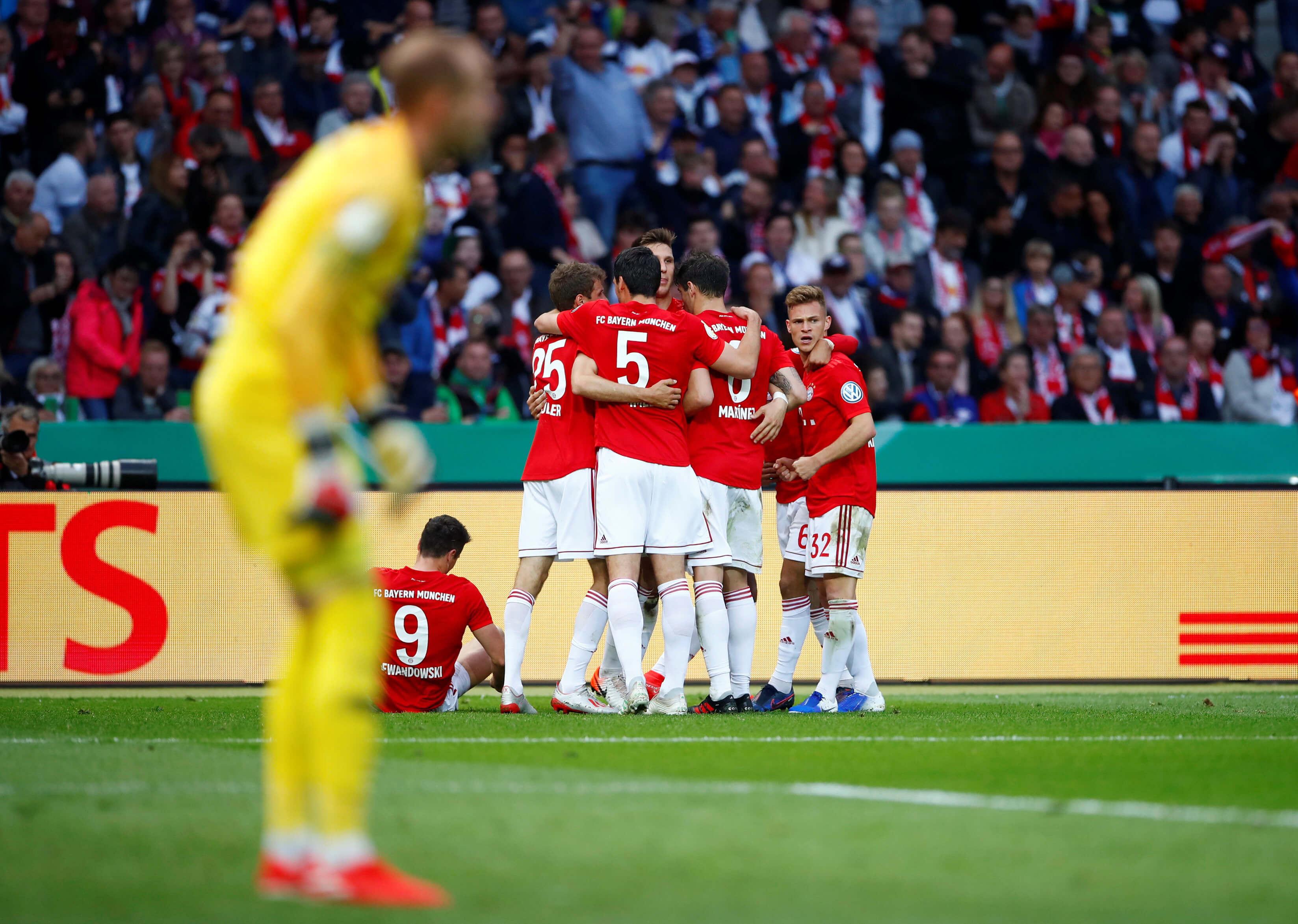 """Νταμπλούχος με """"τριάρα""""! Η Μπάγερν σήκωσε και το Κύπελλο Γερμανίας – video"""