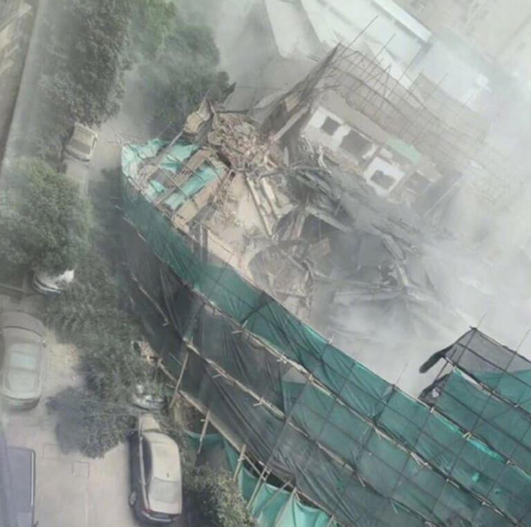Κίνα: Επτά νεκροί από την κατάρρευση κτιρίου στη Σανγκάη
