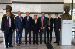 Αντιπροσωπεία της ΔΟΕ στην Αθήνα