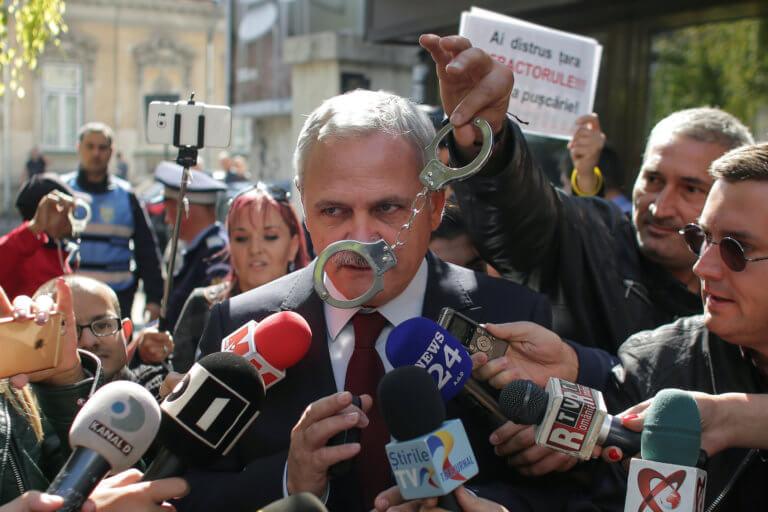 Ρουμανία: Στη φυλακή ο ηγέτης του κυβερνώντος κόμματος, Λίβιο Ντραγκνέα