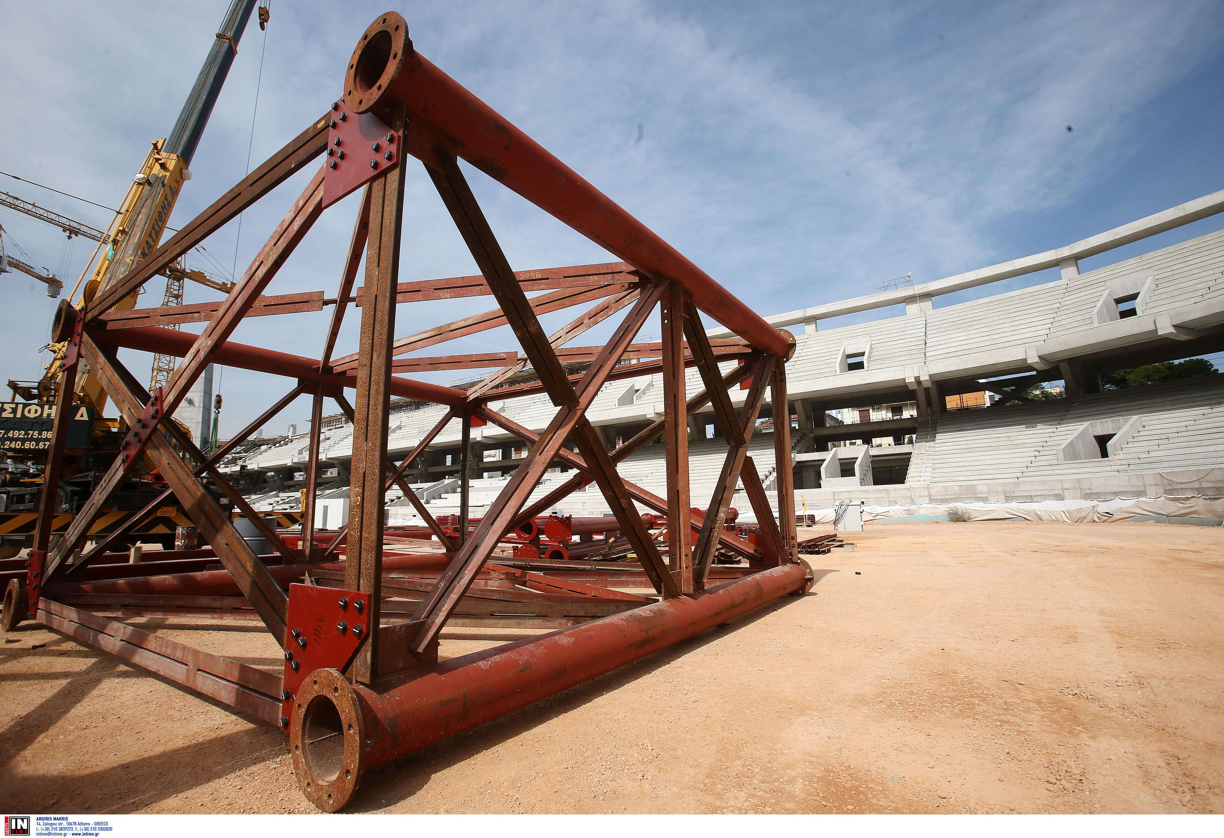 """Γήπεδο ΑΕΚ: """"Σε εξέλιξη η πιο εντυπωσιακή φάση κατασκευής του σπιτιού μας"""" pics"""