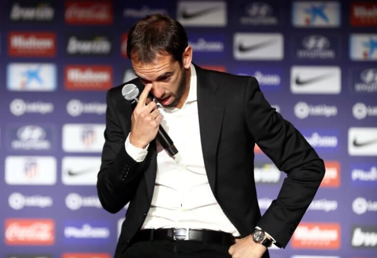 Δάκρυα από Γκοντίν στο «αντίο» του στην Ατλέτικο Μαδρίτης! video