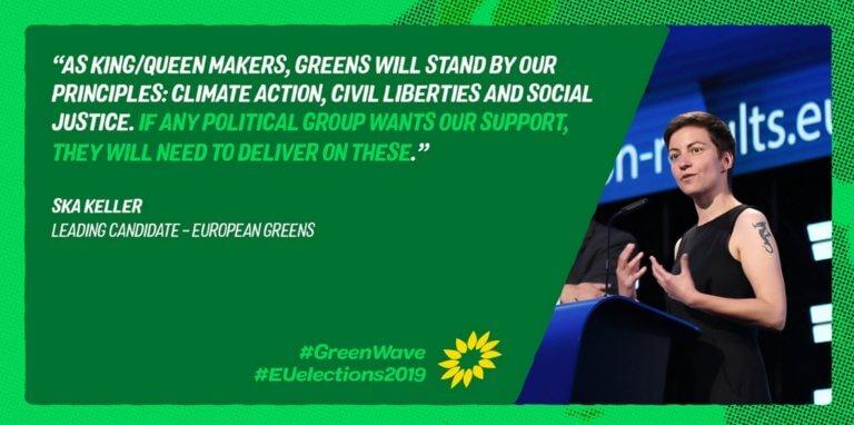 Ευρωεκλογές 2019 – ΕΕ: Άνοδος των Πρασίνων στην Ευρώπη μπροστά στην κλιματική αλλαγή!