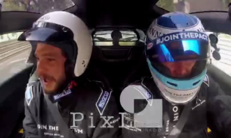 Όταν ο «Jon Snow» ανέβηκε στο «δράκο» του Μίκα Χάκινεν! video