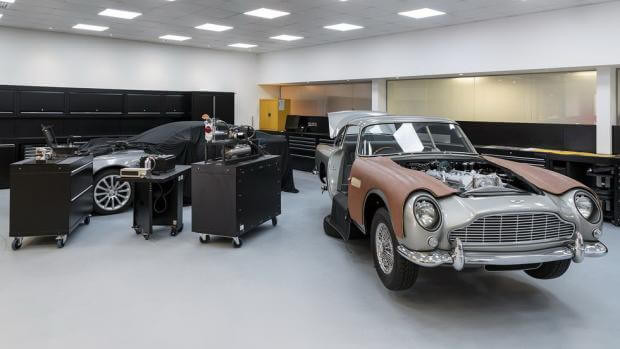 Δείτε τα απίθανα gadgets της νέας Aston Martin του James Bond [vid]