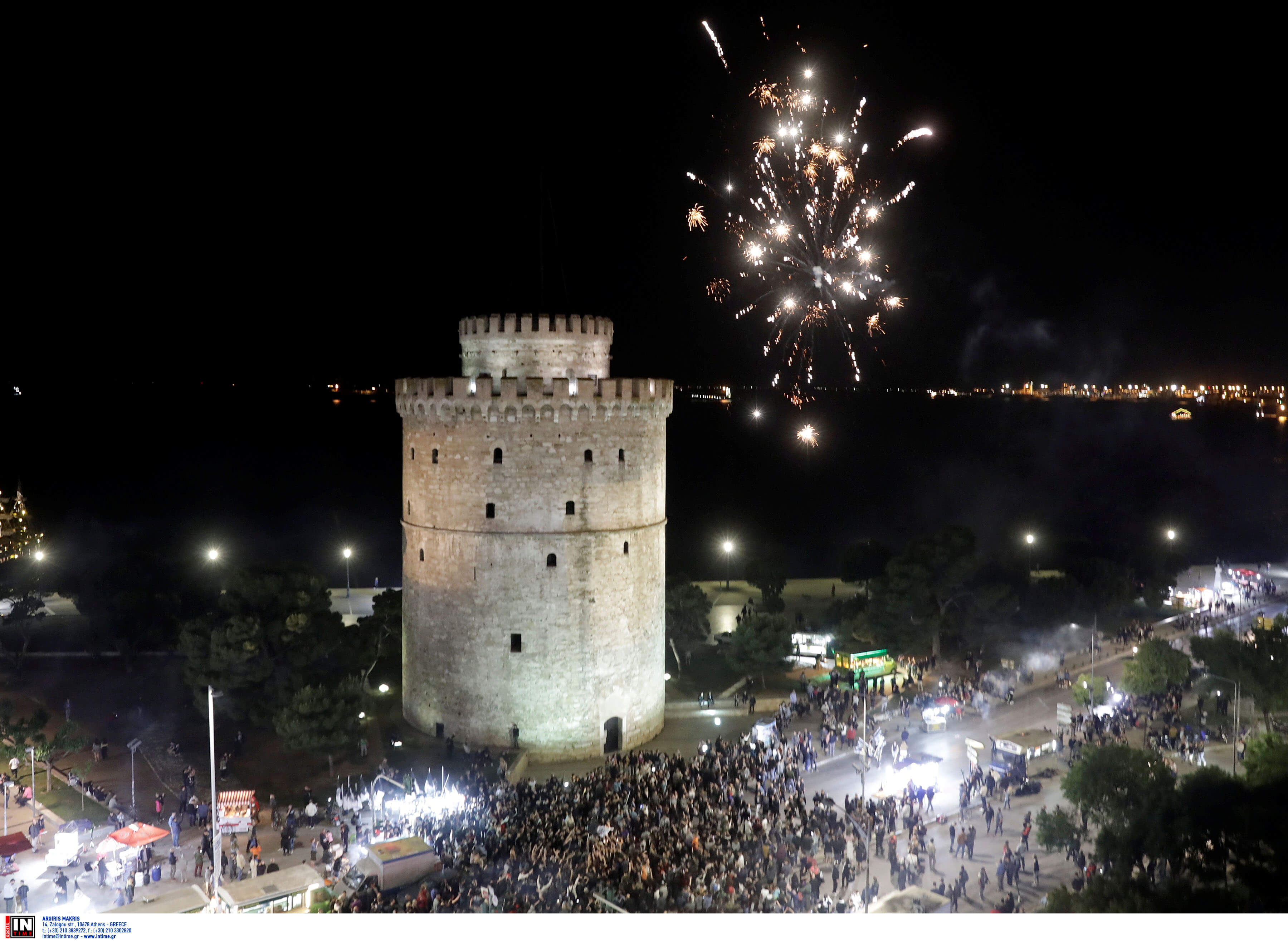 Τελικός Κυπέλλου Ελλάδας – ΠΑΟΚ: Βγήκαν και πάλι στο Λευκό Πύργο! Video, pics