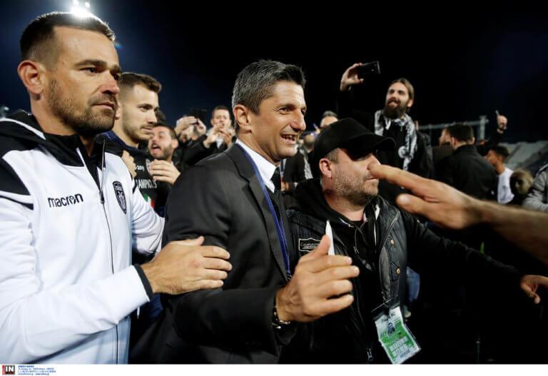 ΠΑΟΚ – Λουτσέσκου: «Κερδίσαμε το πρωτάθλημα για 2η φορά στο γήπεδο»
