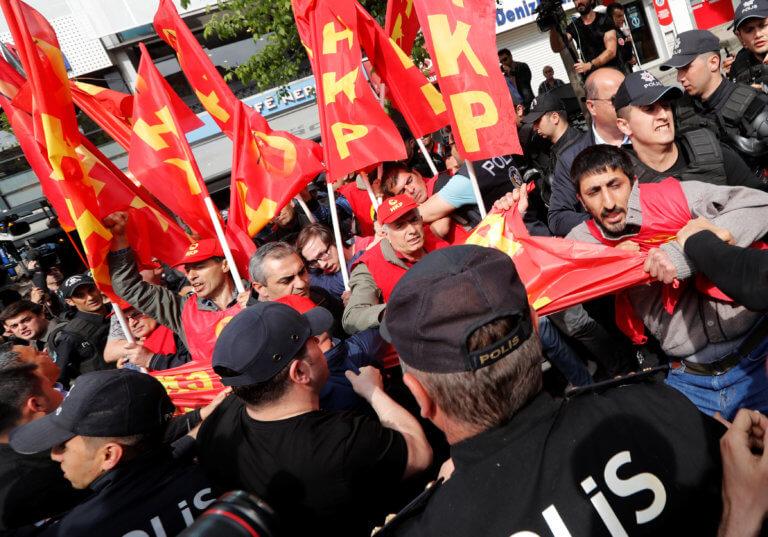 Πρωτομαγιά 2019 – Τουρκία: Συλλήψεις διαδηλωτών στην Πλατεία Ταξίμ