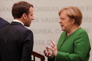 Σύγκρουση Μέρκελ – Μακρόν για τον διάδοχο του Γιούνκερ