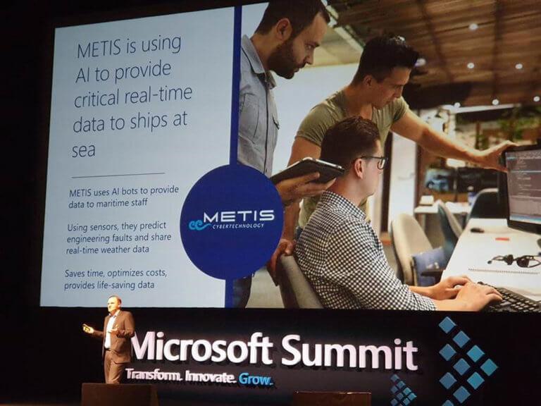 Η METIS στο 4ο Microsoft Summit