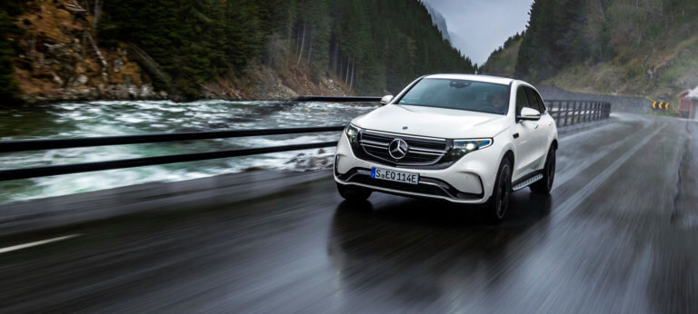 Δοκιμάζουμε την ηλεκτρική Mercedes-Benz EQC 400 4Matic [pics]