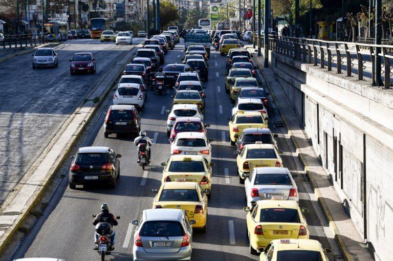 """Μεσογείων: """"Γολγοθάς"""" διαρκείας για τους οδηγούς λόγω εργασιών φυσικού αερίου"""